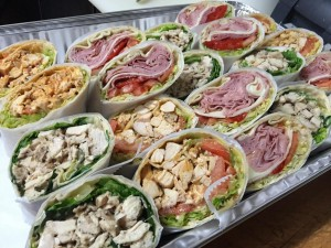 full size wrap tray