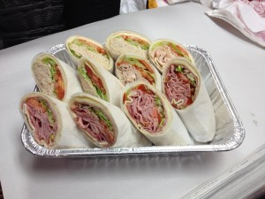 wraps variety in a hallf tray