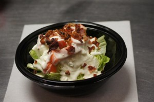 blue iceberg wedge salad
